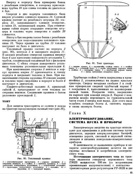 Трактор Т-25 (устройство и