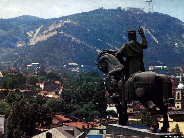 Тбилиси, столицы Грузии
