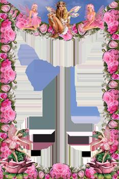 Рамки для фотошоп рамки с цветами