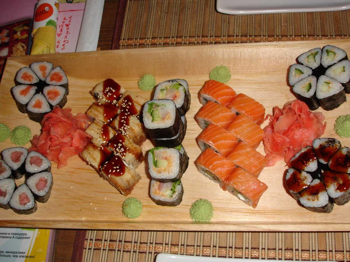 Готовим суши дома фото